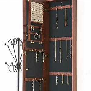 Hanging Mirror Jewelry Armoire Reloc Homes