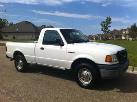 Purchase Used 2004 Ford Ranger Xl Standard Cab Pickup 2