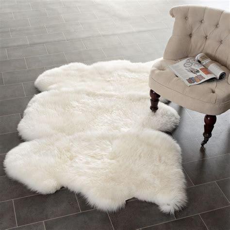 Safavieh Faux Sheepskin Rug by Safavieh Sheepskin Shag Shs121a White Area Rug Free Shipping