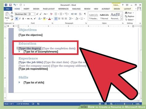 how to create a resume on microsoft word 2007 how to create a resume in microsoft word with 3 sample