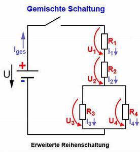 Stromkreise Berechnen : stromkreis mit gruppenschaltung widerst nde in gemischten schaltungen ~ Themetempest.com Abrechnung