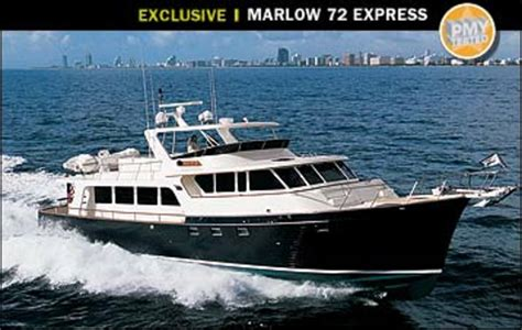 Marlow Boats by Marlow Explorer 72 Power Motoryacht