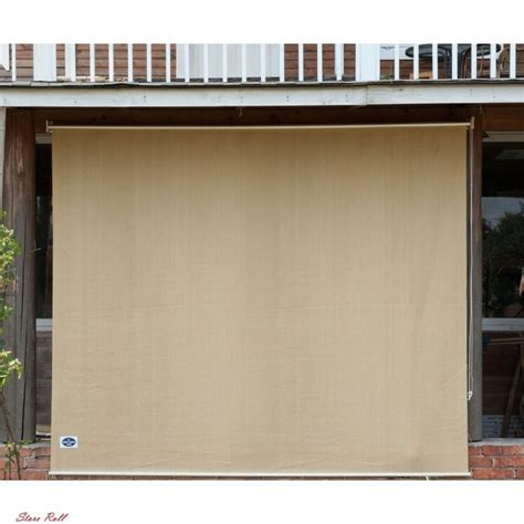 roll up patio blinds outdoor porch shades window deck sun