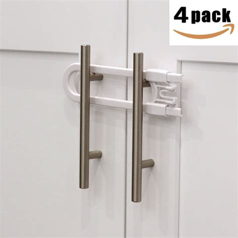 child locks for kitchen cabinets door knob covers 4 pack child safety