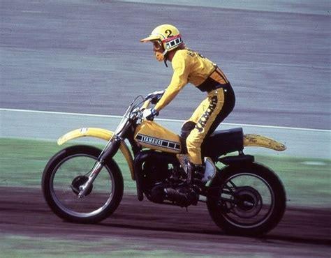 bob hannah  vintage bikes motocross racer yamaha bikes