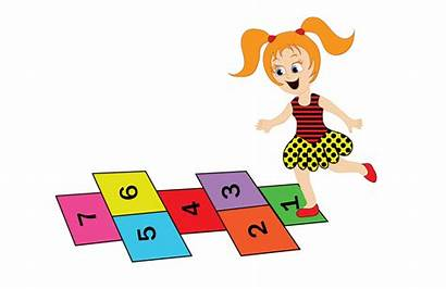Hopscotch Clipart Cliparts French Cartoon Learn Clip