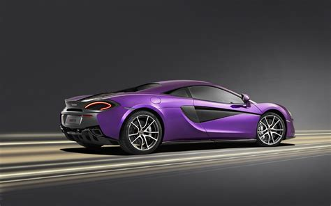 Mclaren Purple Beautiful Car Hd Wallpapers  New Hd