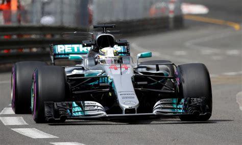 Hamiltons un Fetels sasniedz labākos rezultātus Monako GP pirmajā treniņā - Motoru sports - Auto ...