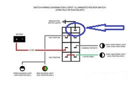 8 Terminal Rocker Switch Wiring Diagram by How To Wire A On On Lighted Rocker Switch Page 1