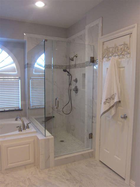 Tub In Shower - side by side shower and tub shower tub bathroom