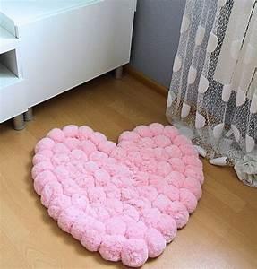 les 25 meilleures idees de la categorie tapis de pompon With tapis chambre bébé avec faire un bouquet de roses