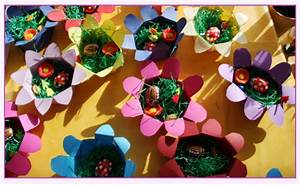 Einfache Papierblume Basteln : bastelanleitung eine papierblume als osterk rbchen medienwerkstatt wissen 2006 2017 ~ Eleganceandgraceweddings.com Haus und Dekorationen