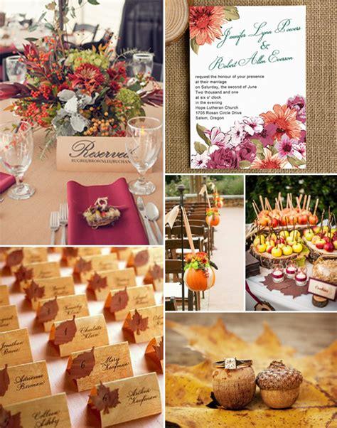 Fall Wedding Invitations Laser Cut Wedding Invitations