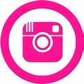 Deep pink instagram 5 icon - Free deep pink social icons