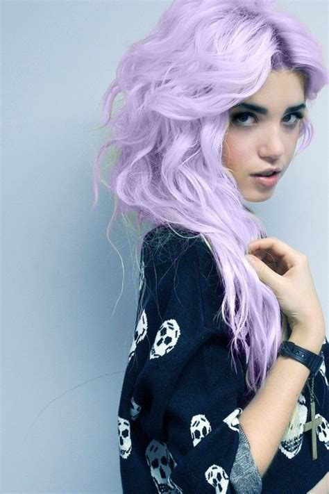 light purple hair the different shades of purple hair which one is for you