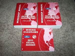 2011 Ford Escape Shop Service Repair Manual Xls Xlt