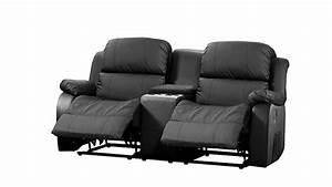 2 Sitzer Mit Relaxfunktion : kinosofa mit tea table lakos 2 sitzer sofa schwarz relaxfunktion ~ Indierocktalk.com Haus und Dekorationen