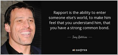 Top 25 Rapport Quotes (of 82)  Az Quotes