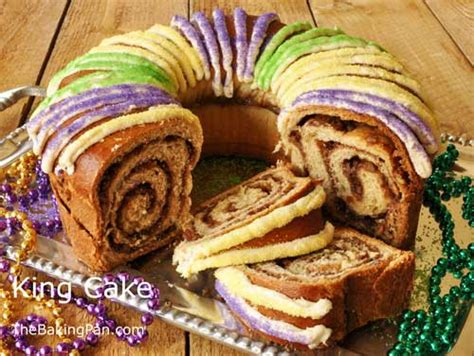king cake recipe yeast bread thebakingpancom