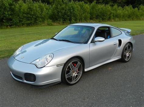 2001 Porsche 911 Turbo by Find Used 2001 Porsche 911 Turbo 996tt 6sp Polar Silver