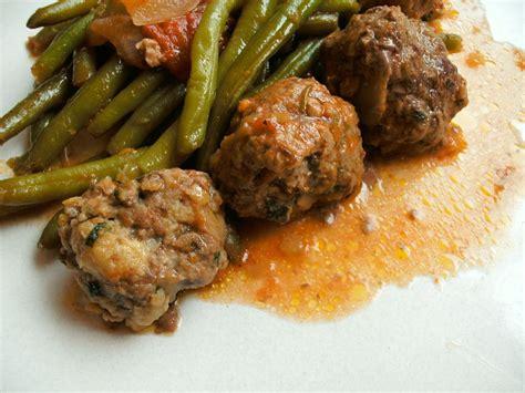 haricots verts et boulettes de boeuf blog cuisine avec