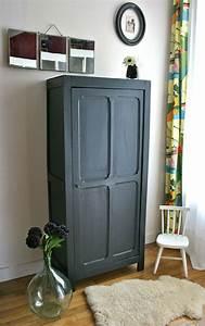 bonnetiere meuble vintage vintage pinterest With peindre des armoires en bois