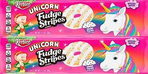 february newsletter template keebler made unicorn fudge stripes cookies with a cupcake flavor new keebler products