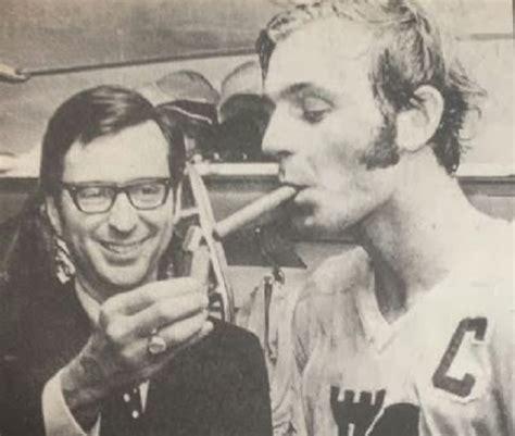 guy lafleur quebec remparts captain smoking cigar