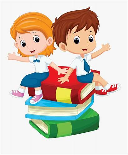 Cartoon Student Clipart Clip Boy Transparent Preescolar