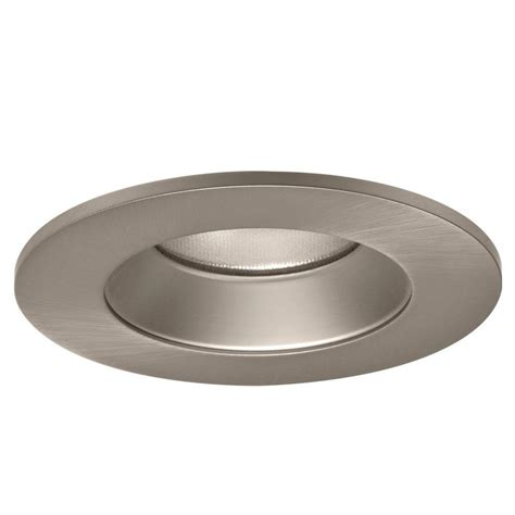 Recessed Lighting Trim by Halo 4 In Satin Nickel Specular Recessed Lighting Led