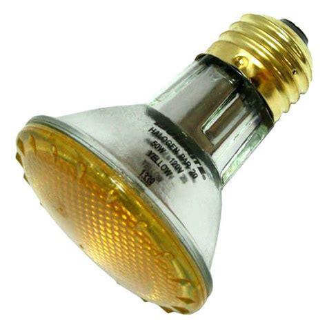 bulbrite 683508 h50par20y colored flood light bulb