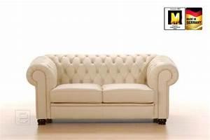 2 Sitzer Sofa Leder : neu exclusives 2 sitzer sofa echt leder in beige couch chesterfield nussbaum ebay ~ Bigdaddyawards.com Haus und Dekorationen
