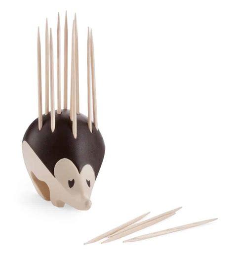 kipik hedgehog toothpick holder noveltystreet