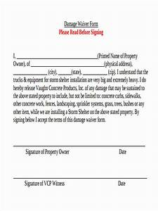 vehicle damage waiver form pictures to pin on pinterest With property damage waiver template