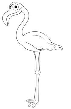 flamingo zeichnen lernen schritt fuer schritt tutorial