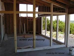 Build a Porch Part 2 Build a Screened Porch Front