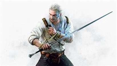 Witcher Geralt Hunt Wild Wallpapers Stone Hearts