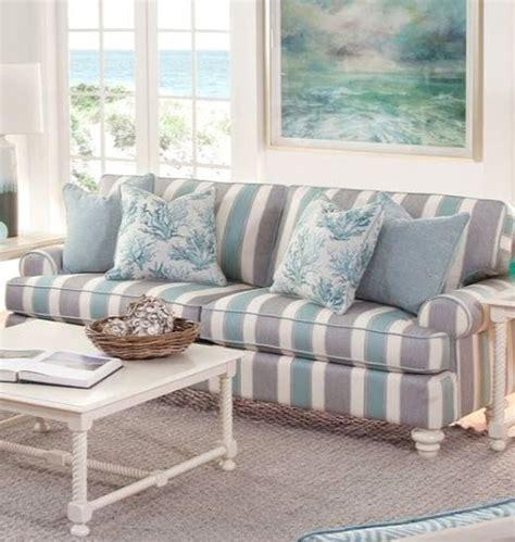 Striped Sofas by Striped Sofa Ideas For A Coastal Nautical Style
