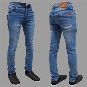 Dfs Celana Jeans Skinny  2f Slimfit  2f Pensil Pria Hitam