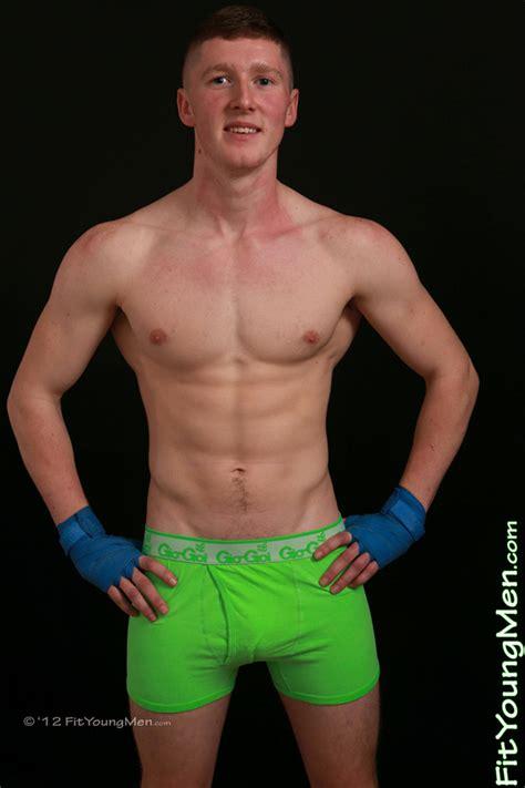 Fit Young Men Model Ed Douglas Muay Thai Big Hunk Ed