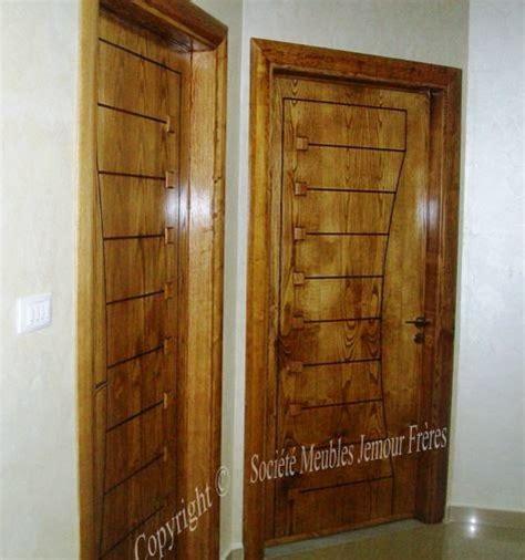 portes d int 233 rieur de villa moderne en bois noble et mdf plaqu 233 soci 233 t 233 meubles jemour fr 232 res