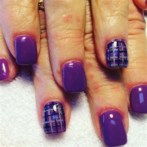 plaid nail art designs ideas design trends