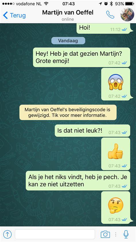 whatsapp toont grotere emoji chats sneller archiveren