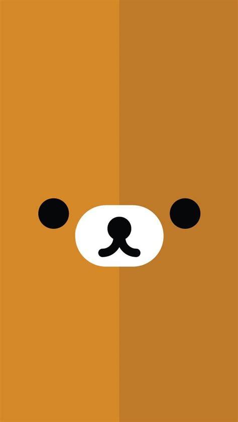 fondo de pantalla de celular kawaii de oso