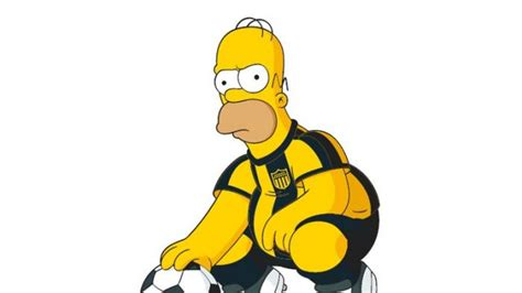 bart  homer simpsons perkuat klub uruguay penarol