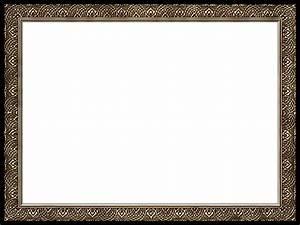 Presentation Photo Frames: Wide Fancy Rectangle, Style 25