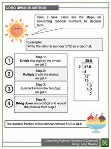 Converting Rational Numbers To Decimals Using Long Method