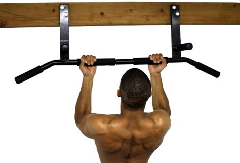 wide door pull up bar ultimate press joist mounted pull up bar