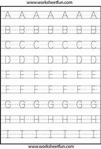 Tracing – Uppercase Letters – Capital Letters – 3 ...