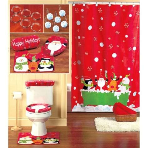 ideas on how to decorate your bathroom for christmas